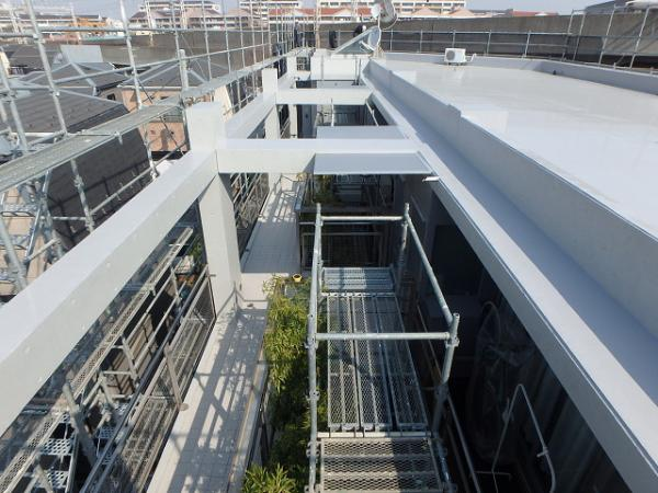 (8) 3階廻り工事完了2