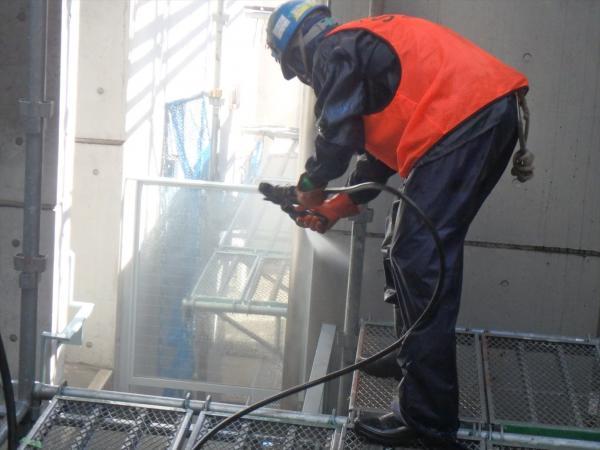 (3)外壁高圧洗浄3