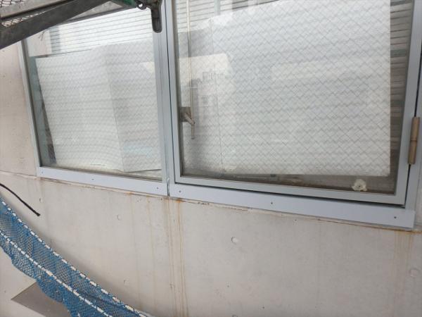 (1)鉄部窓枠補修1