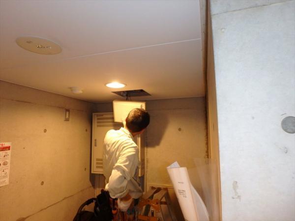 (7)インターホン玄関制御装置交換