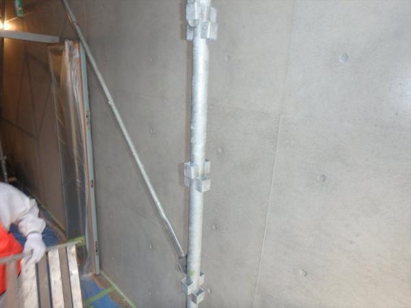(2)エントランス壁面塗装2