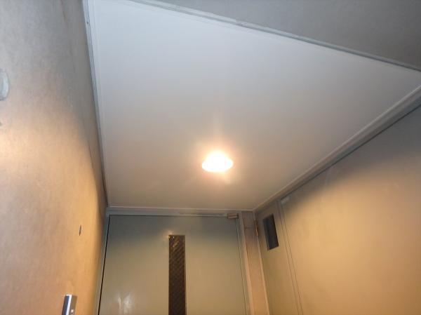 (3)共用部天井塗装1