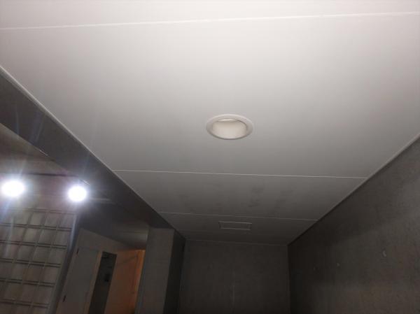 (4)共用部天井塗装2