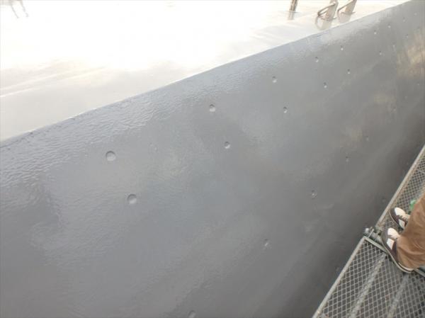 (8)斜壁防水塗装