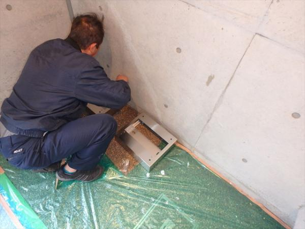 (1)宅配ボックス設置工事1