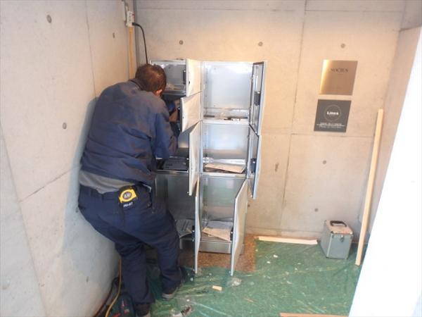 (2)宅配ボックス設置工事2