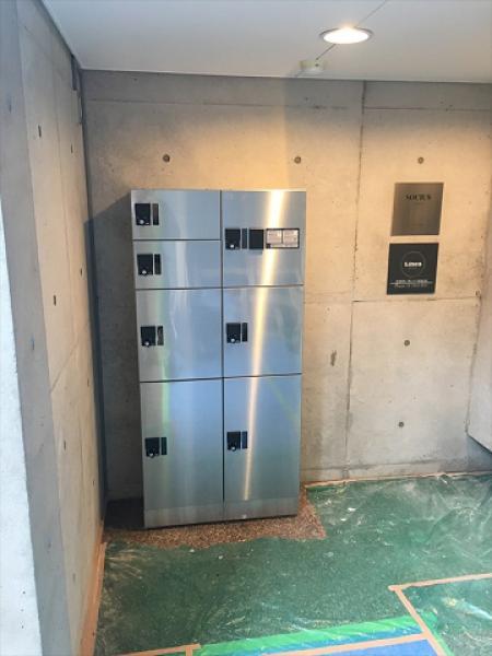 (3)宅配ボックス設置工事3