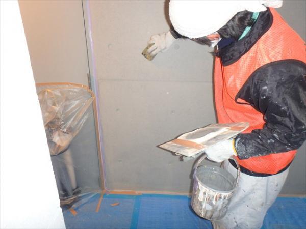 (13)共用部壁面塗装