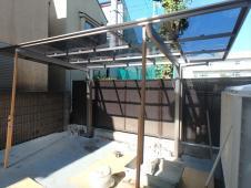 5.駐輪場屋根設置1