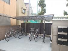 6.駐輪場屋根設置2