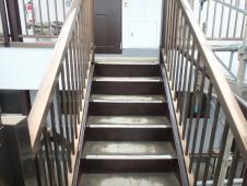 5.鉄部階段仕上げ塗装