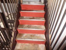 6.鉄部階段仕上げ塗装