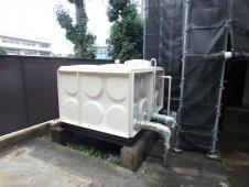 10.貯水タンク塗装