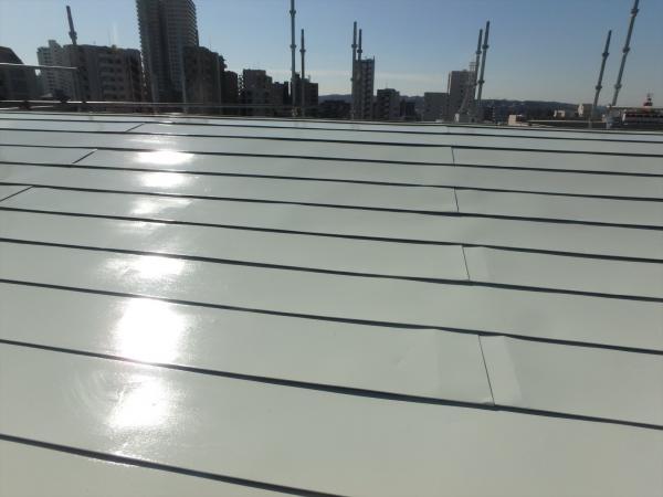 (10)屋上塔屋部屋根仕上げ塗装2
