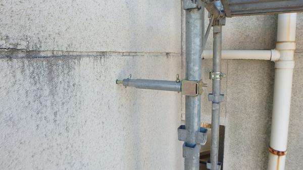 (10).足場繋ぎ設置