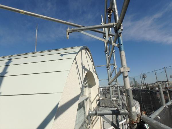 (11)屋上塔屋部屋根塗装3