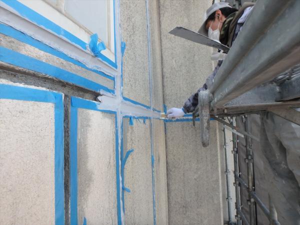 (12)外壁シール充填2