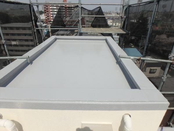 (2)エレベータ塔屋防水仕上げ2