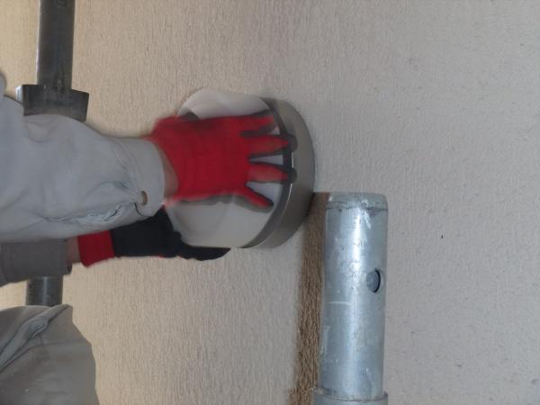 (2)階段室吹き抜け照明交換工事2