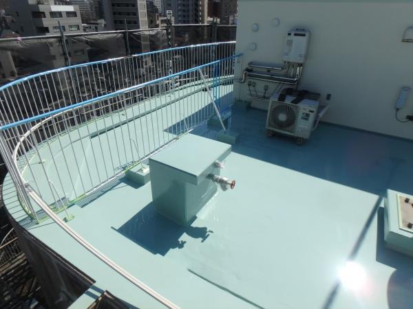 (4)屋上.防水塗装2層目4