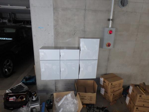 (4)宅配BOX設置工事1