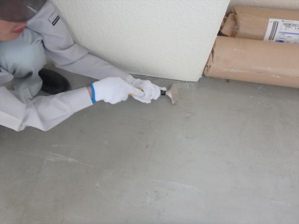 (4)長尺シート貼り替え工事1