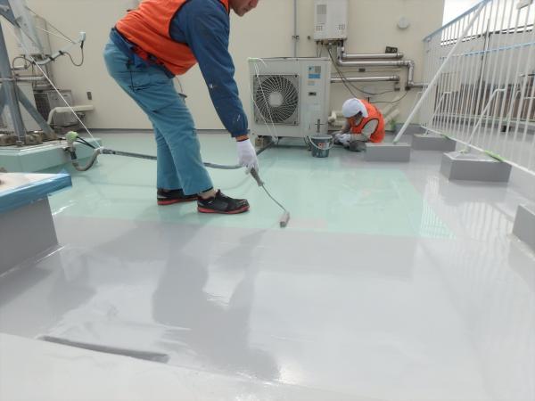 (5)屋上.防水塗装仕上げ1