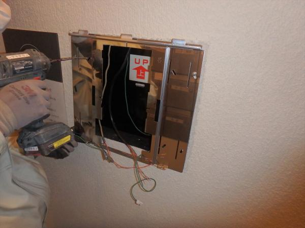 (7).インターホン集合装置交換2