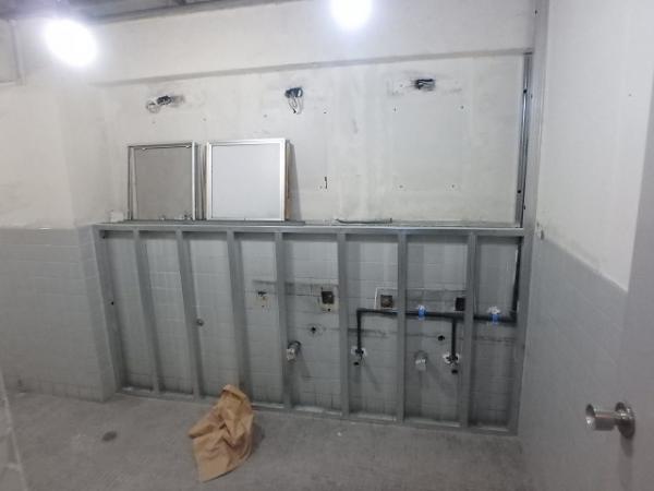 (7)トイレ下地組み1