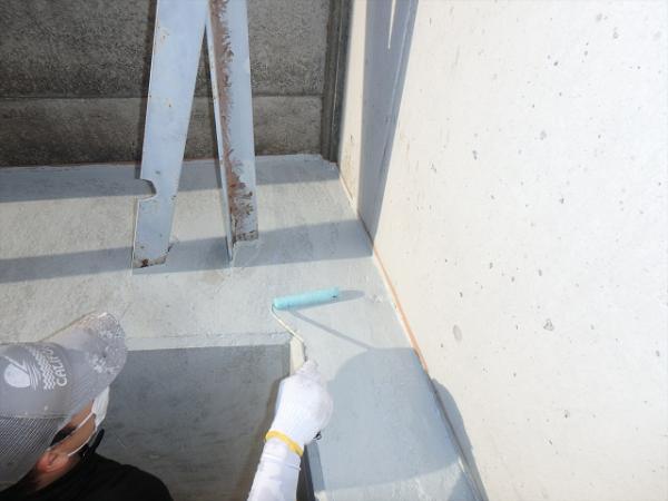 (7)外溝塗装作業1