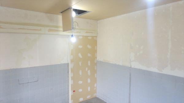 (7)女子トイレ下地組み2