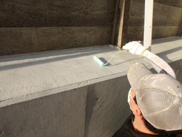 (8)外溝塗装作業2