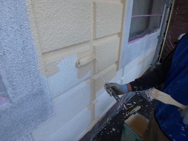 14.B棟 外壁中塗り塗装工事1