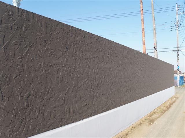 2.東側 外塀塗装完了
