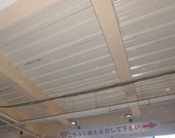 4.A棟 車路 天井梁・外壁塗装4