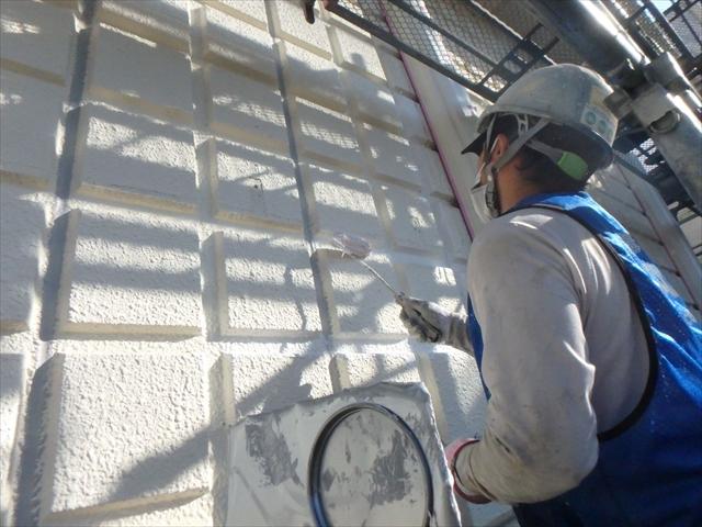 9.A棟 外壁下塗り工事2