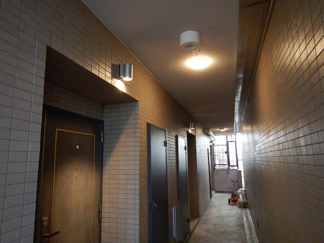 1.廊下照明器具交換