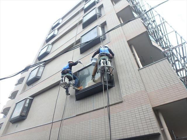1.西面出窓天端防水1