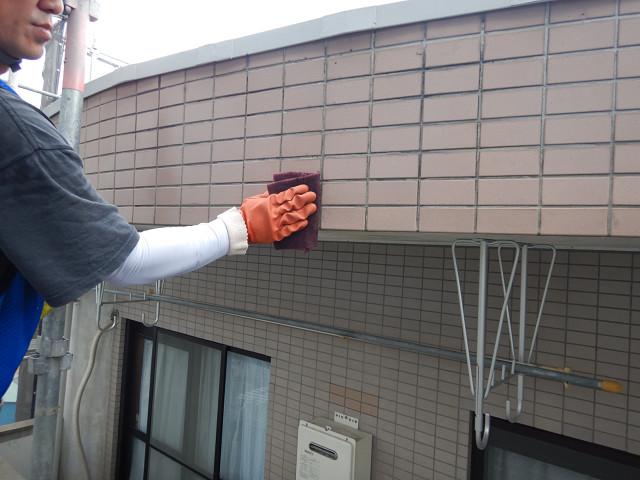 4.外壁薬品洗浄2