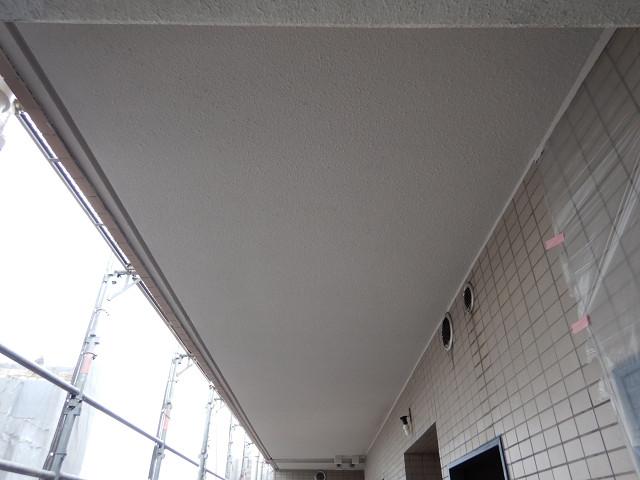 6.共用廊下天井塗装