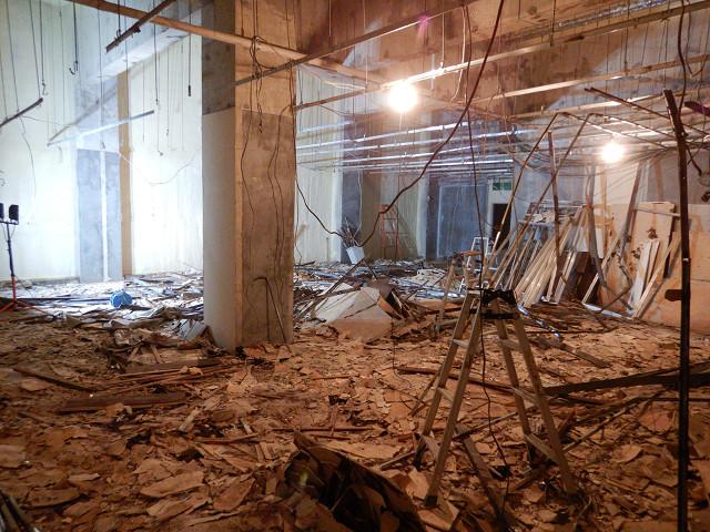 6.B1階トランクルーム解体