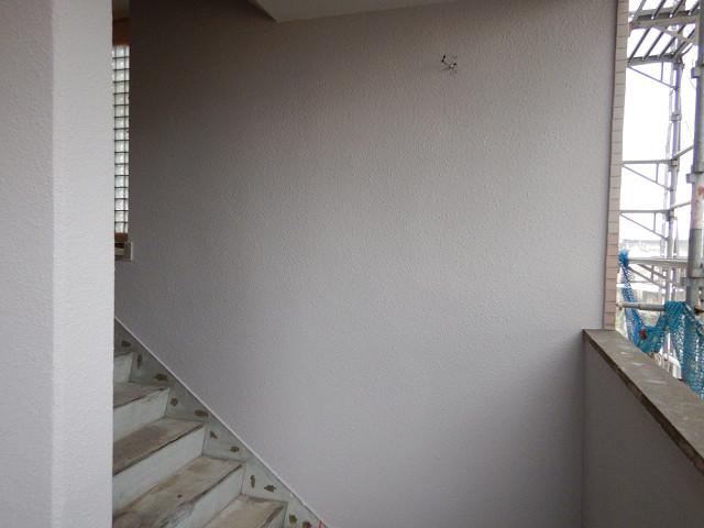 7.階段まわり外壁塗装