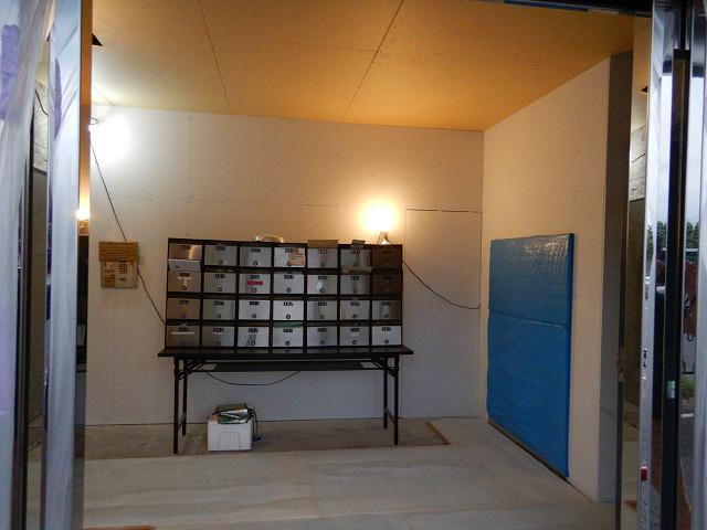 9.エントランス天井、壁下地作成完了